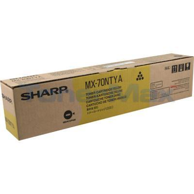 SHARP MX-5500N 6200N TONER CARTRIDGE YELLOW